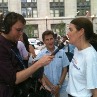 laura-interview-at-health-rally